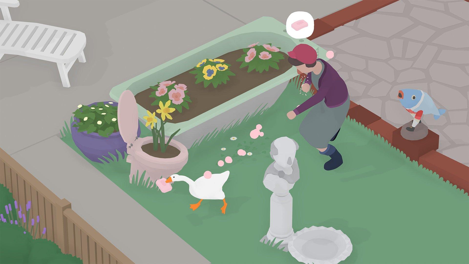 Untitled Goose Game sort sur Switch, EGS en septembre.