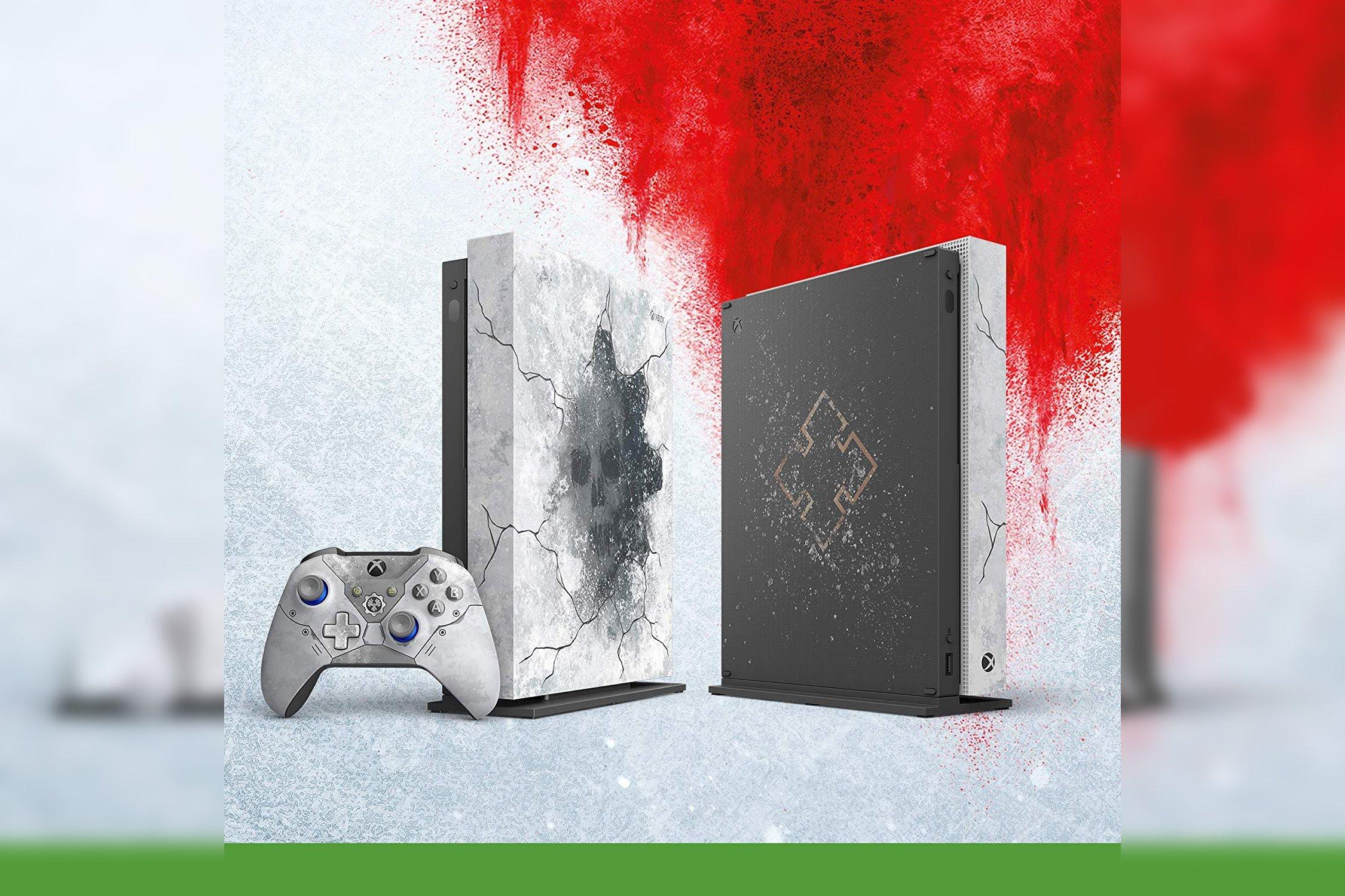 Xbox One X Gears 5 Ultimate Edition inclut tous les jeux.