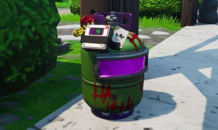 Emplacements des bidons de gaz de Fortnite Joker : Où désamorcer les bidons de gaz Joker trouvés à différents endroits nommés