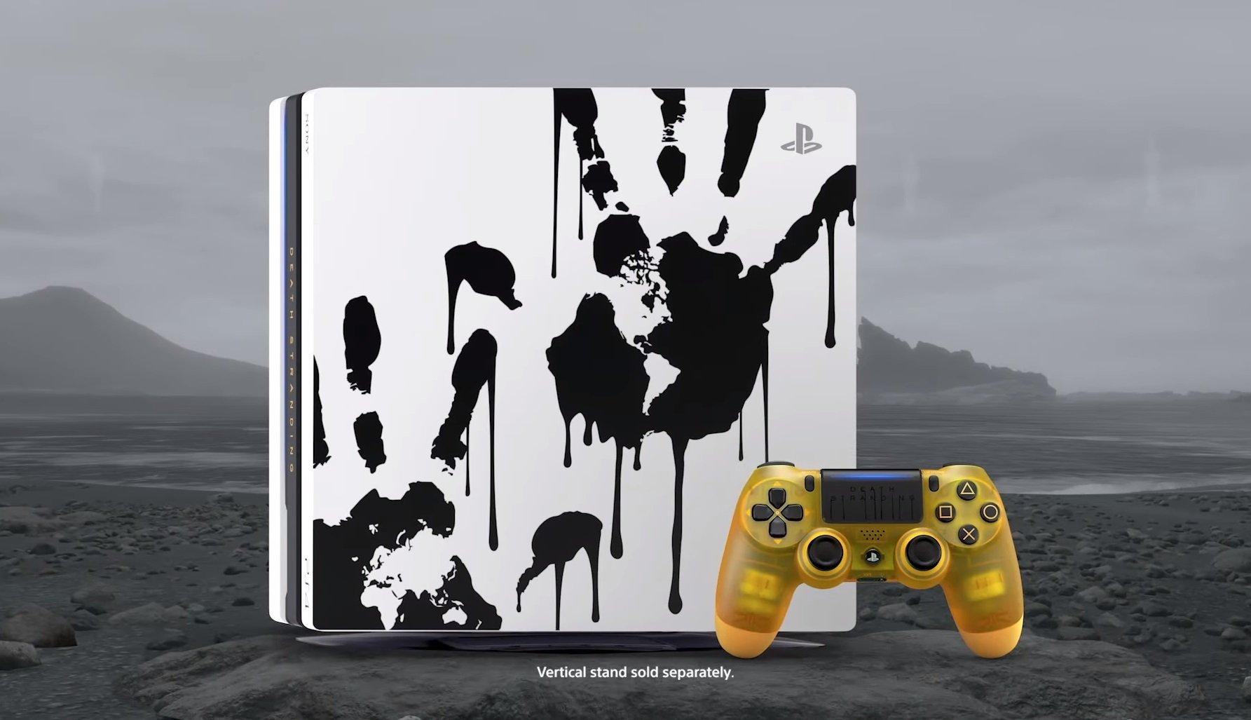 Nouveau pack PS4 Pro pour Death Stranding
