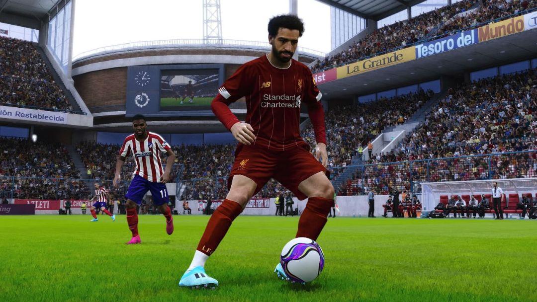 La comparaison des graphismes FIFA 20 et PES 2020 provoque un drame sur le terrain