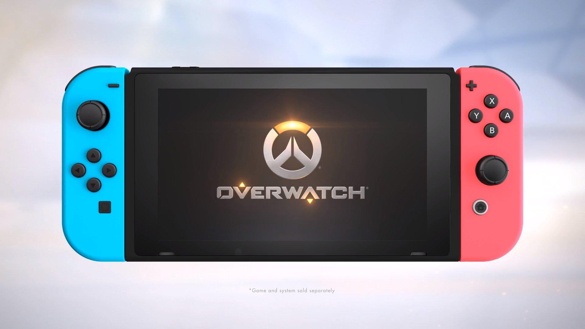 Overwatch à venir sur Nintendo Switch