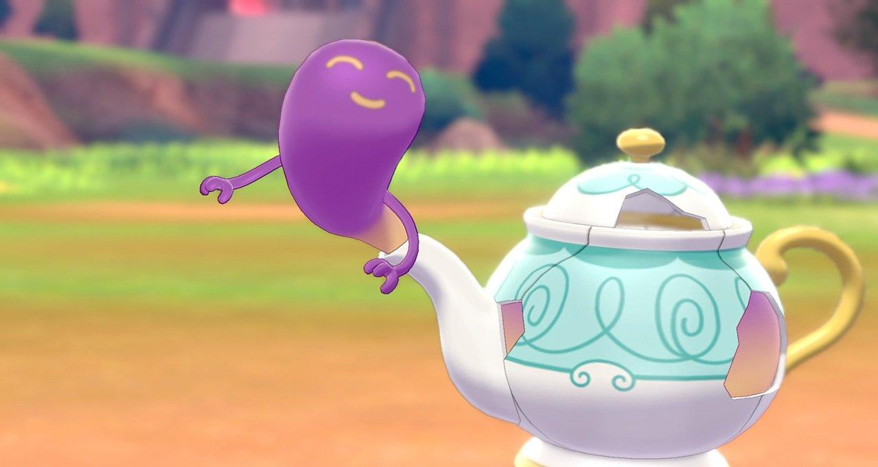 Nouveau Pokémon taquiné sur le site de Sword and Shield