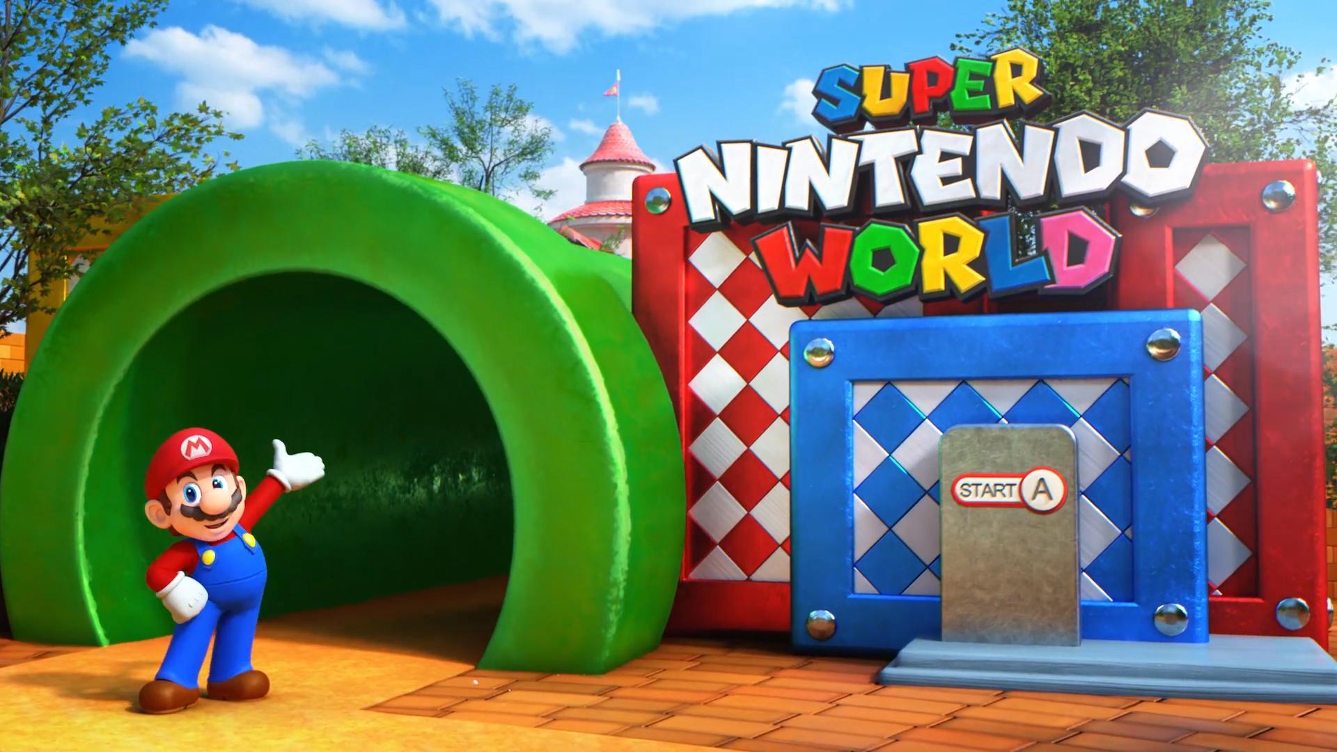Le parc d'attractions Super Nintendo World ouvre ses portes avec Mario Kart et Yoshi rides