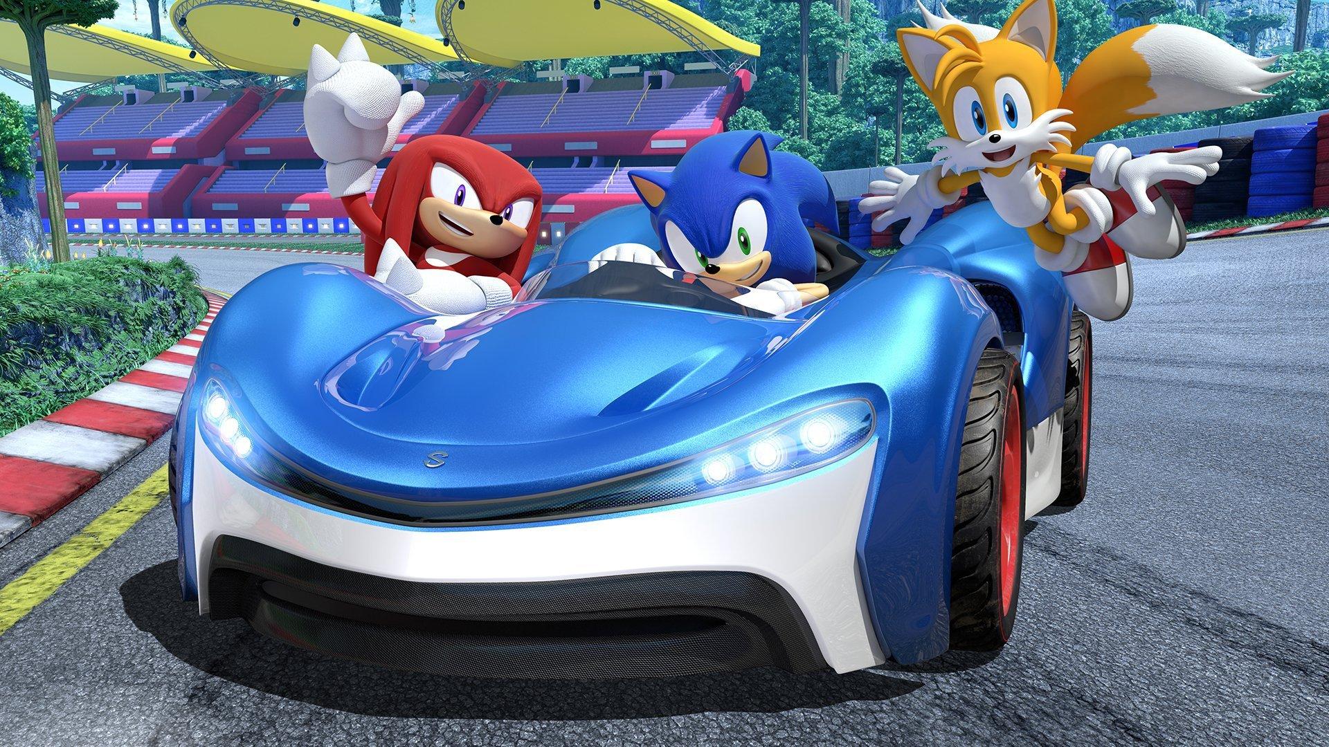 À quoi servent les crédits dans Team Sonic Racing