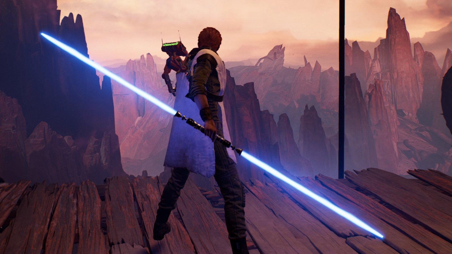 Obtenez le sabre laser à double lame en Jedi : Ordre tombé