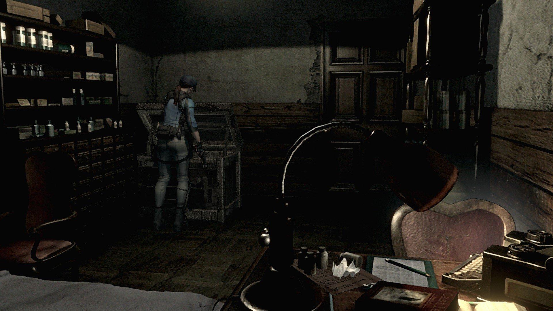 Comment déposer des objets dans Resident Evil HD Remaster