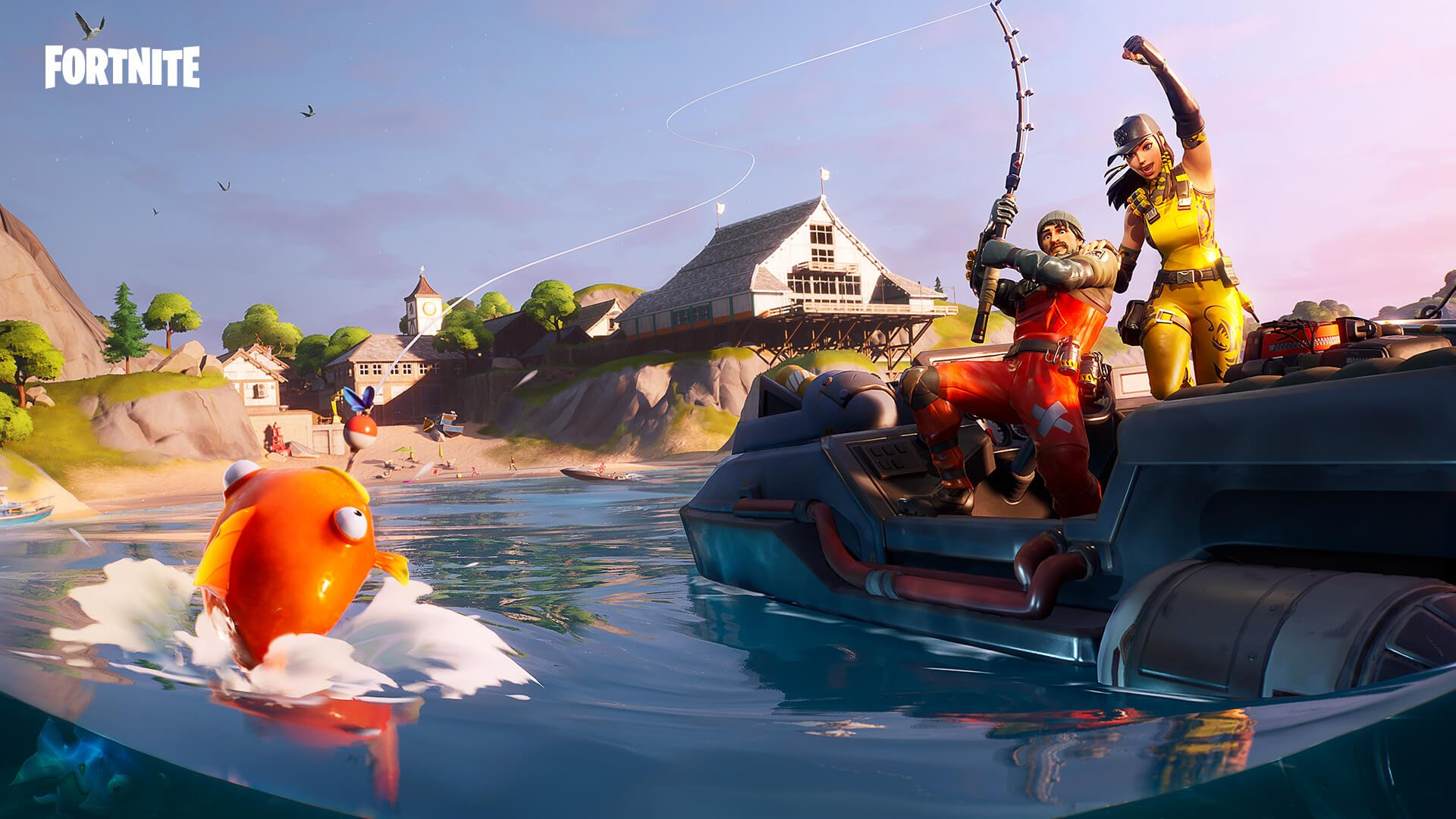 Comment participer au concours Fishing Frenzy à Fortnite
