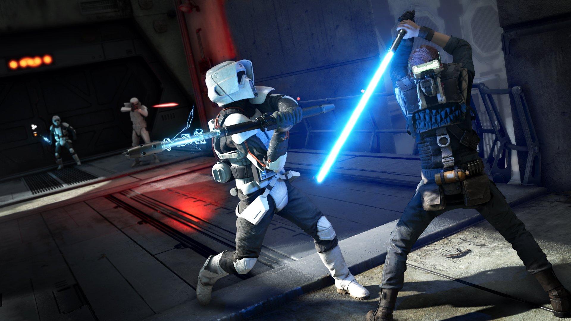 Déverrouillez toutes les couleurs de sabre laser dans Star Wars Jedi : Ordre tombé