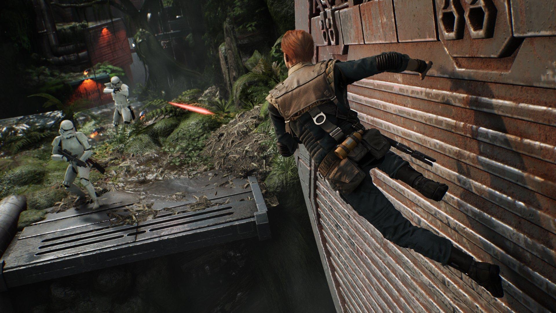 Comment Wall Run dans Star Wars Jedi : Ordre tombé