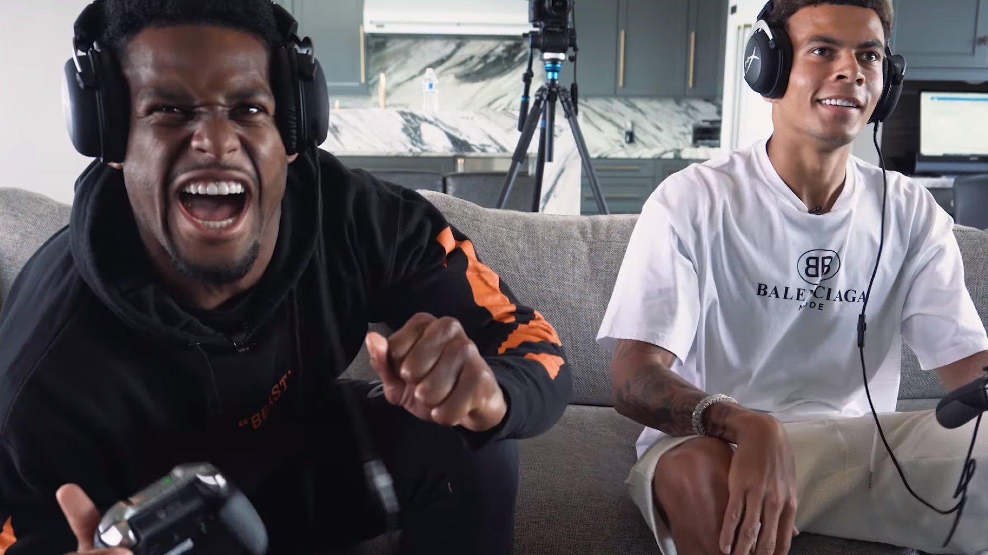 Le jeu, le football et le football s'unissent alors que Dele et JuJu s'unissent dans la maison de jeu HyperX.