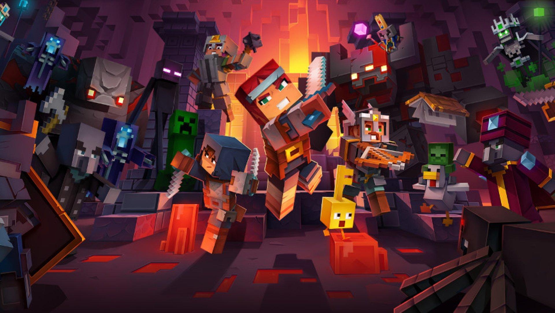 La date de sortie de Minecraft Dungeons est confirmée pour avril 2020.