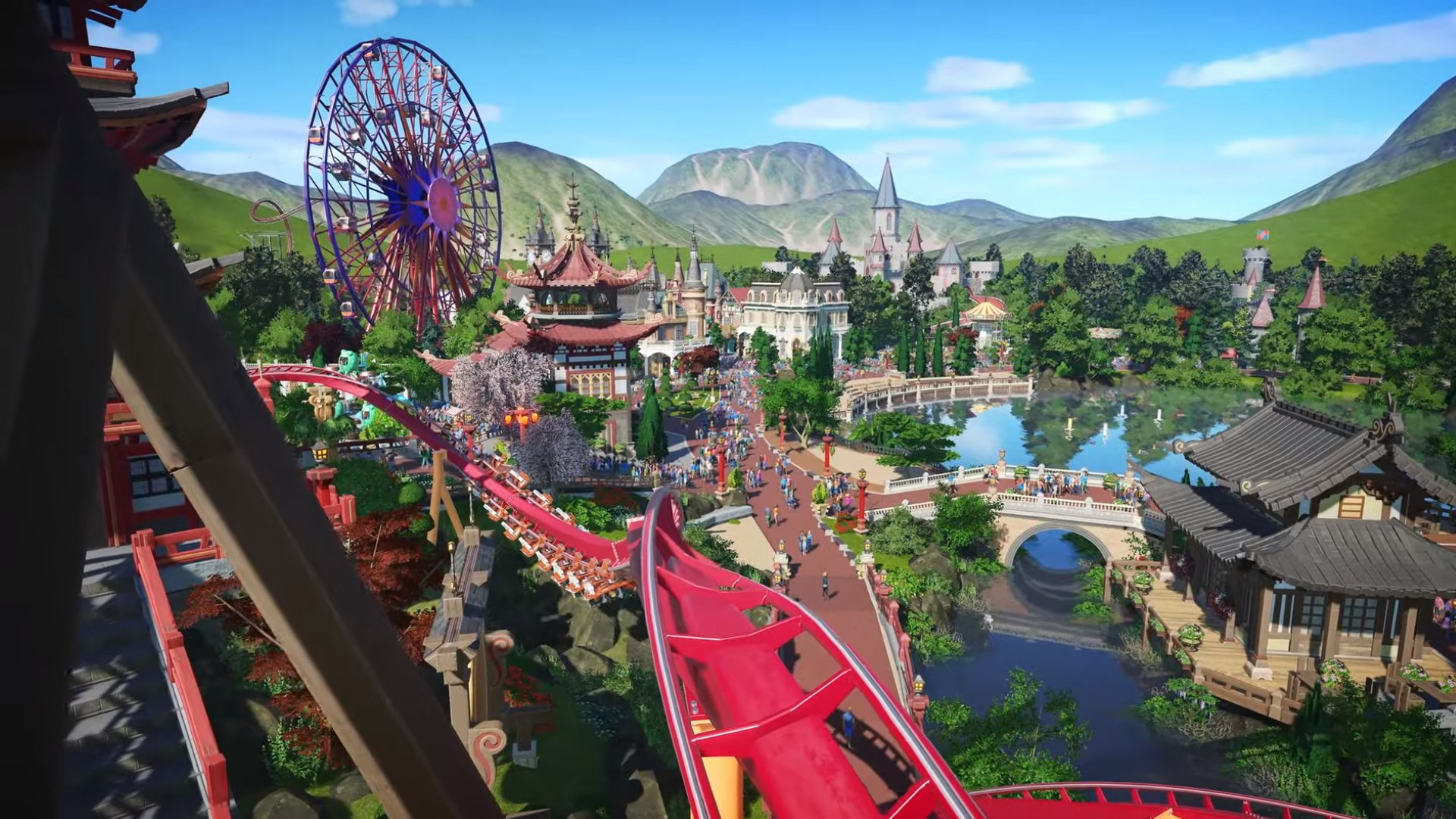 Planet Coaster sur Xbox One et PS4 en 2020