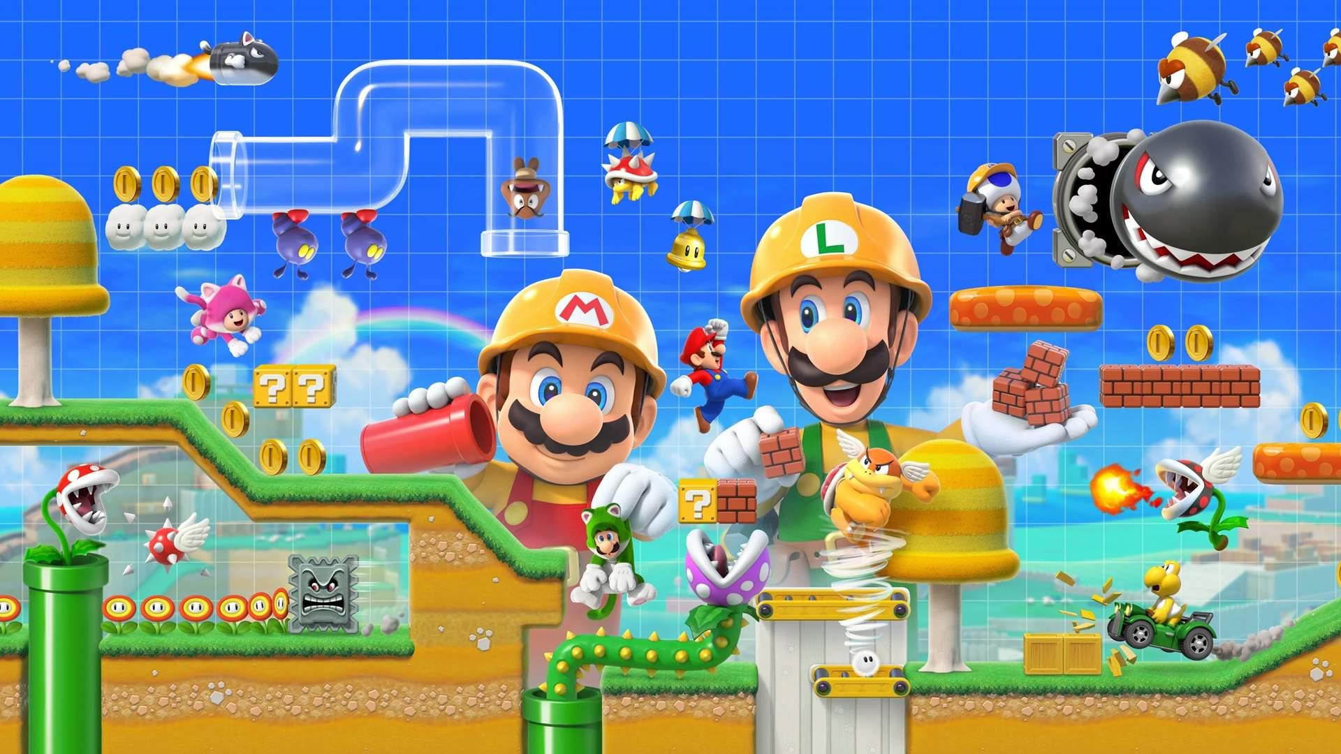 Nintendo Direct dévoile le gameplay de Super Mario Maker 2