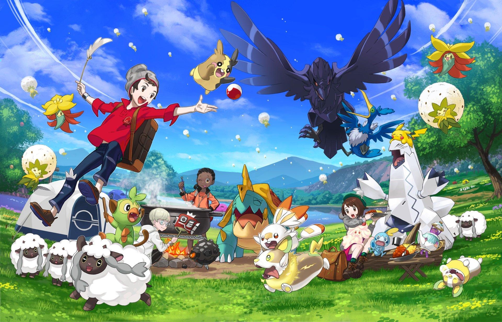 Contrôleurs supportés par Pokemon Sword et Shield