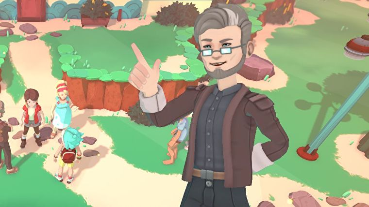 Temtem carries on a proud Pokémon tradition by having a hot professor