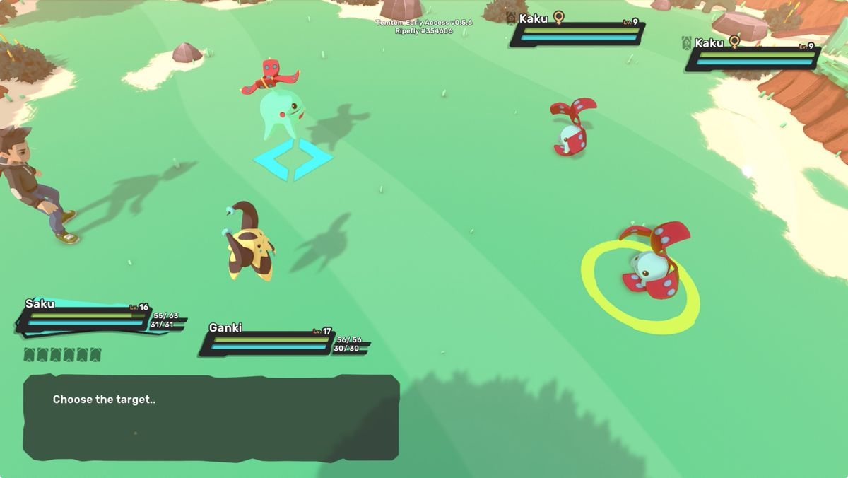 Temtem guide: Why are some attack circles red or yellow?