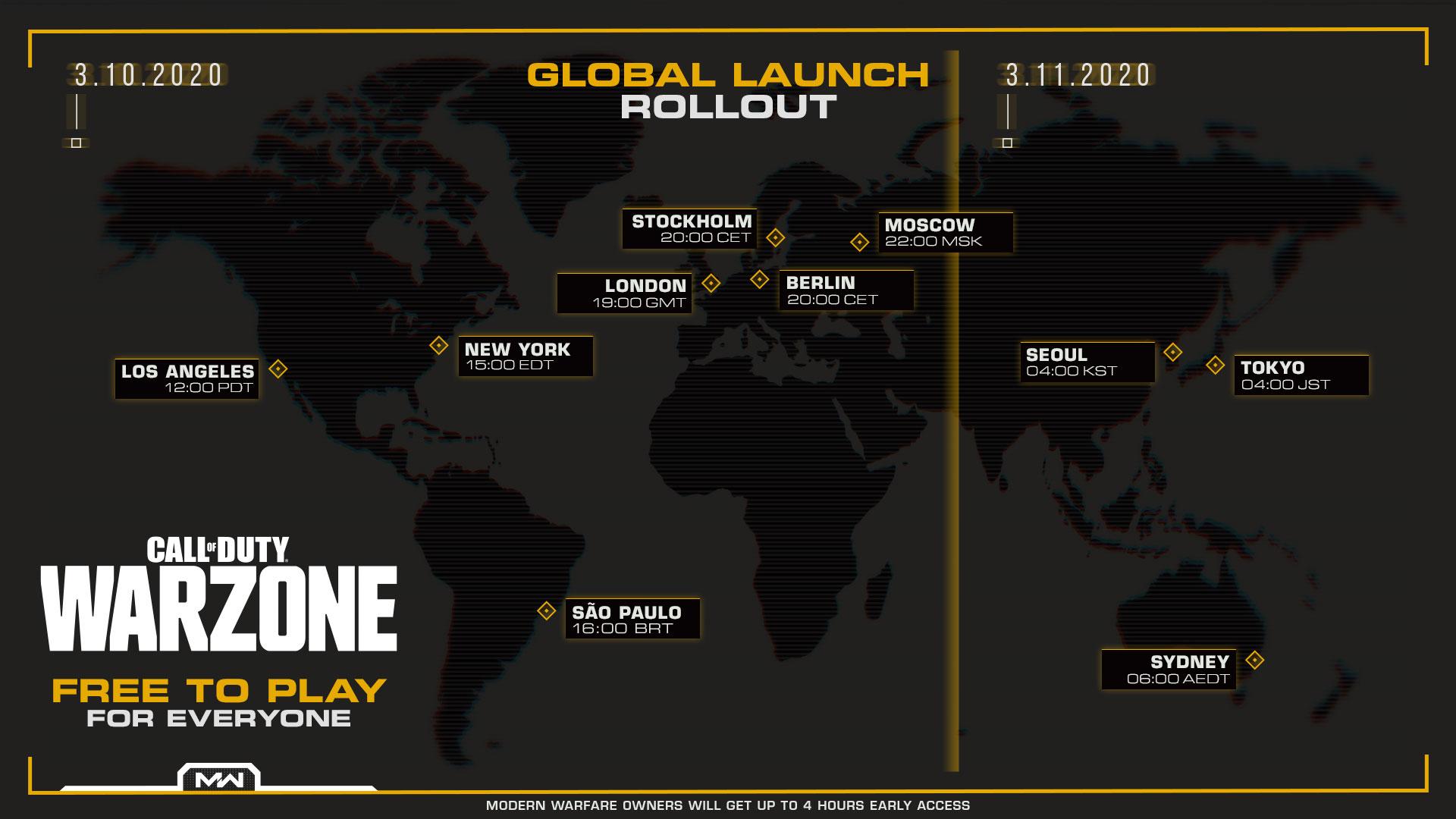 Call of Duty : la zone de guerre se lance demain, libre pour tous
