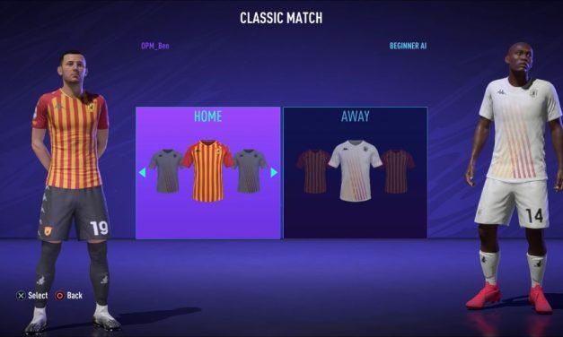 Kits FIFA 21 : les meilleurs maillots pour votre équipe finale