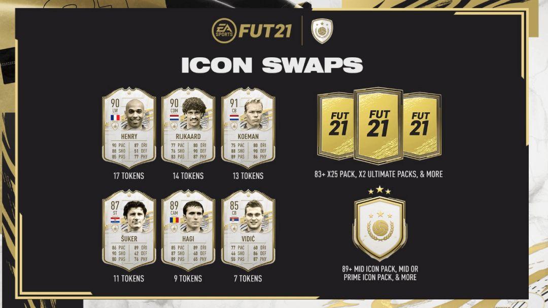 Guide des échanges d'icônes de FIFA 21 : comment obtenir gratuitement Henry, Suker ou Vidic