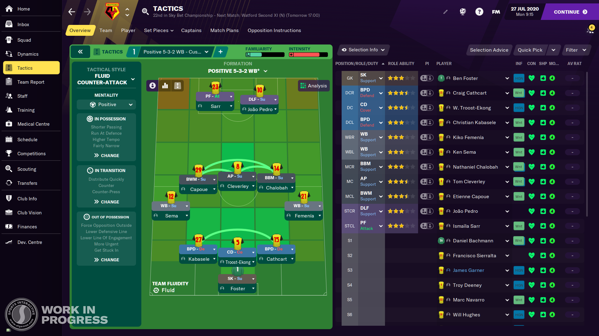 Football Manager 2021 knows just what to change and what to leave alone