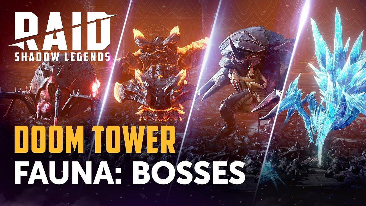 Raid Shadow Legends : Statistiques des Boss de la Tour du Malheur