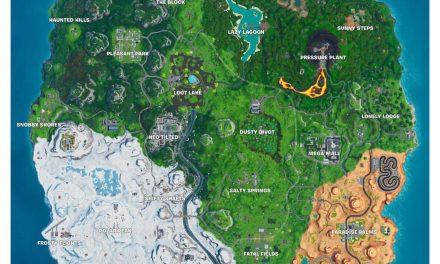 Où Fortbyte 36 est-il accessible par Sentinel sur une île gelée ?