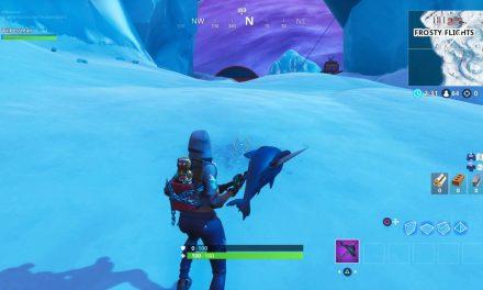 Emplacement de la bannière secrète Fortnite Week 8 – où la trouver à Frosty Flights ?