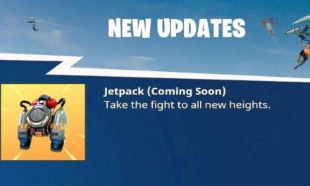 Les Jetpacks viennent à Fortnite Battle Royale, et Internet a perdu la tête.