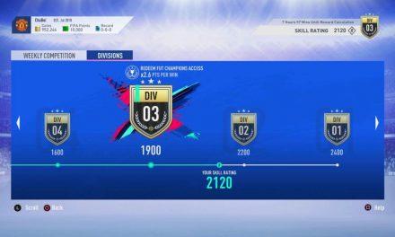 FIFA 19 Ultimate Team obtient 10 nouvelles icônes et le mode Rivaux de Division