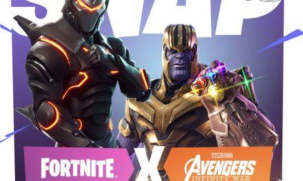 Craignez-le, fuyez-le, un Vengeur : Infinity War / Le multisegment Fortnite arrive le 8 mai