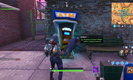 Comment obtenir Fortnite Fortbyte 91, trouvé à un endroit caché dans l'écran de chargement #4