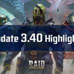 Raid Shadow Legends : Mise à jour 3.40 – Points forts