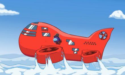 """La carte """"Airship"""" d'Among Us est lancée ce mois-ci."""