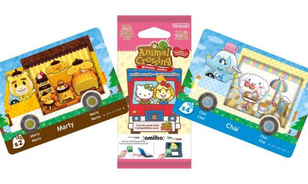 Le jeu de cartes Sanrio d'Animal Crossing est arrivé au Royaume-Uni.
