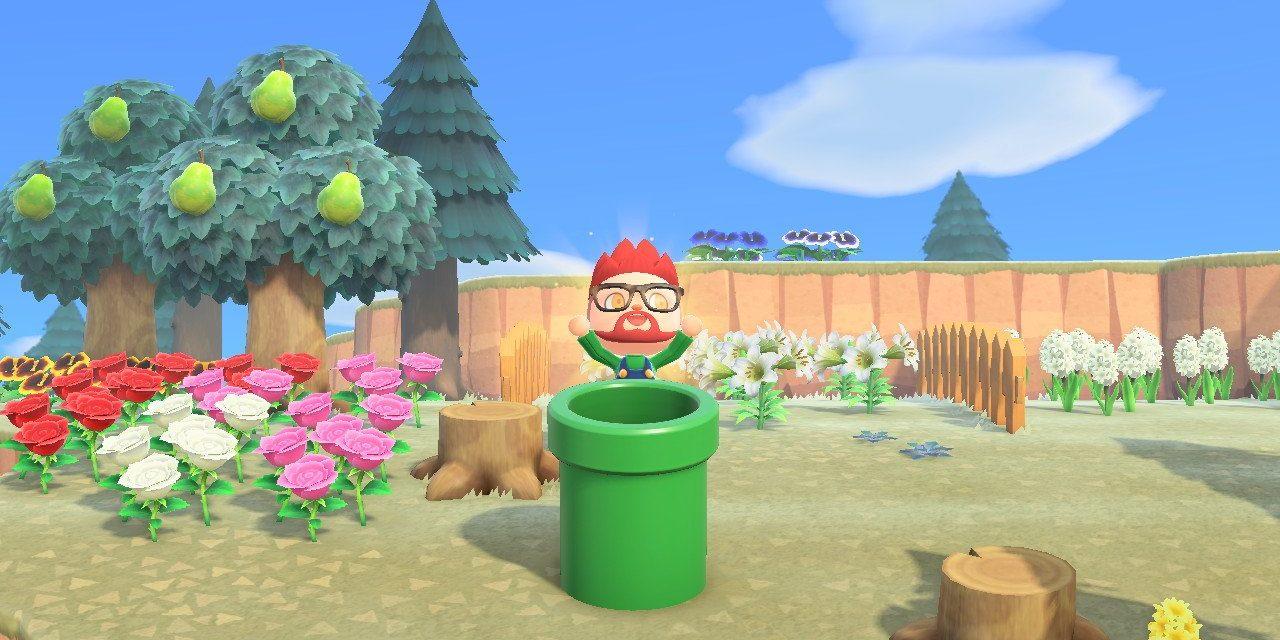 Comment obtenir les objets Mario dans Animal Crossing