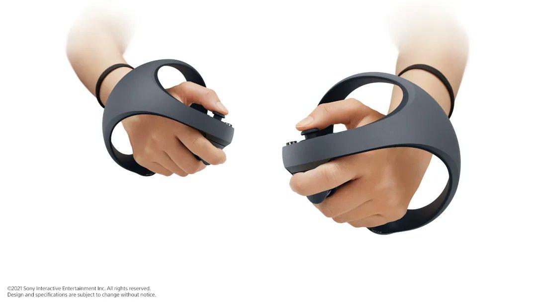 Les nouvelles manettes PS5 VR sont dévoilées avec un retour haptique et des gâchettes adaptatives.