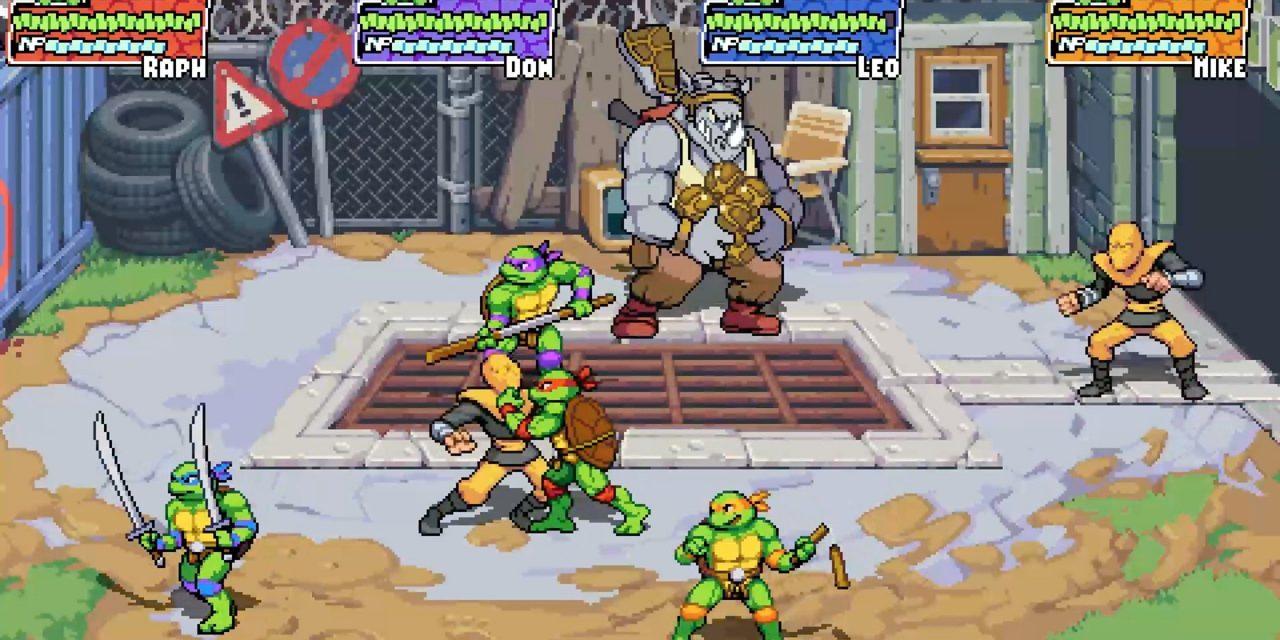 TMNT : Shredder's Revenge est un nouveau beat'em up de l'équipe de Streets of Rage 4.