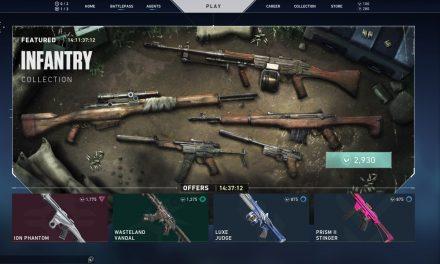 Valorant ajoute le M1 Garand, complet avec son emblème.