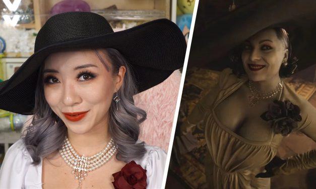 Soyez la grande dame vampire grâce au tutoriel de maquillage Resident Evil 8 Game Glow de Stella Chuu.