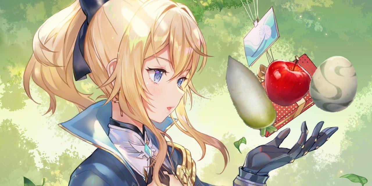 Où trouver des radis, des œufs d'oiseaux et des pommes à Genshin Impact ?