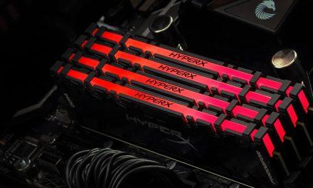 La RAM HyperX établit un record mondial de vitesse de mémoire overclockée