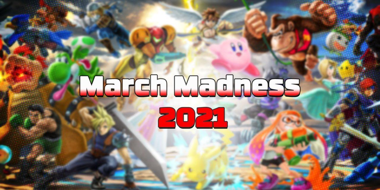 Le bracket AllGamers March Madness 2021 est de retour !
