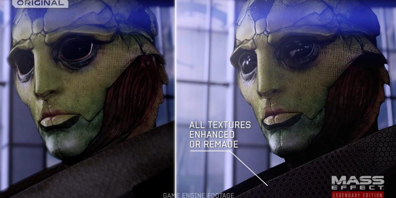 Mass Effect : Legendary Edition : la bande-annonce de comparaison vous permet de comparer les textures.