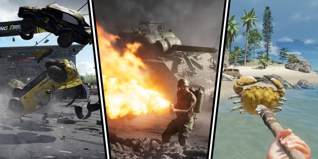 Les jeux PS Plus de mai font un carnage avec Wreckfest et Battlefield 5