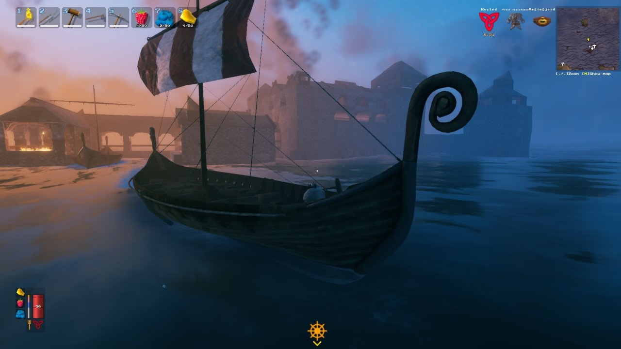 All valheim ships how to craft