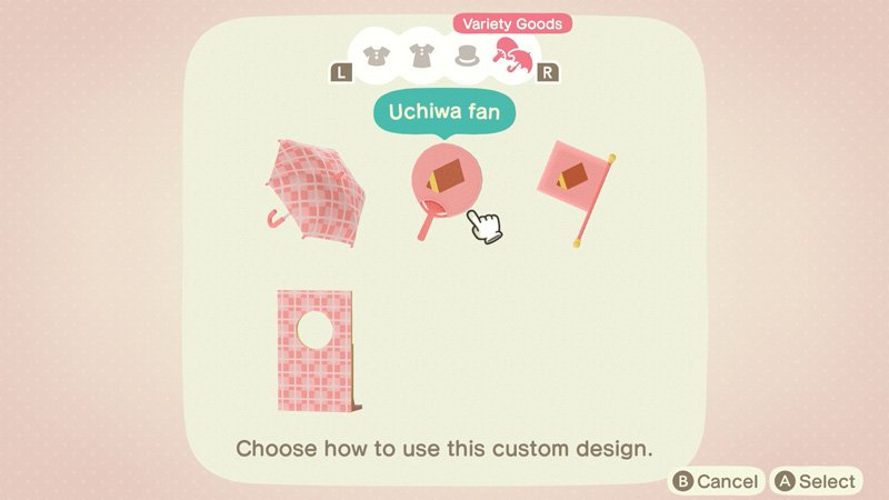 Animal Crossing New Horizons custom designs expansion