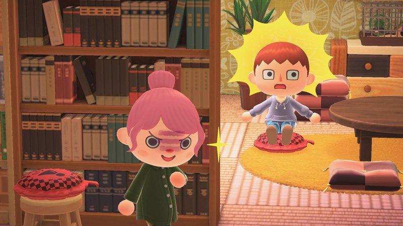 Animal Crossing New Horizons seasonal items spring whoopee cushion