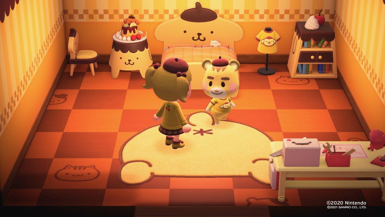 Animal Crossing Sanrio card memes chaos