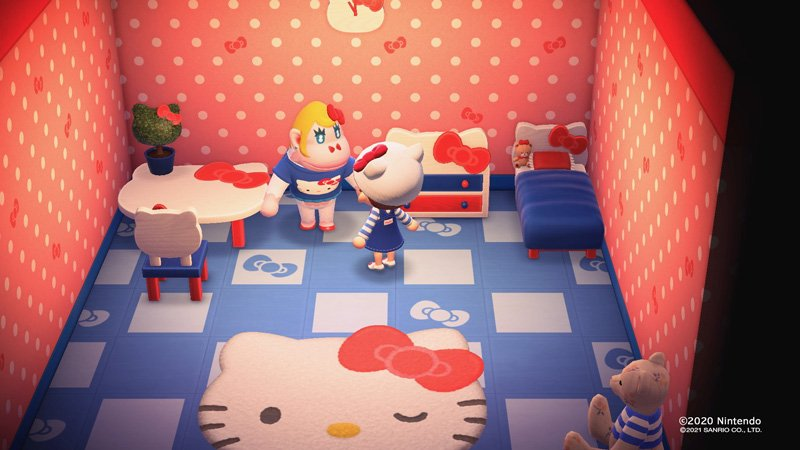 Animal Crossing: New Horizons Sanrio items